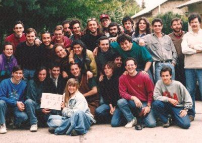 Fotos 1992 de promocion Balseiro egreso 1995